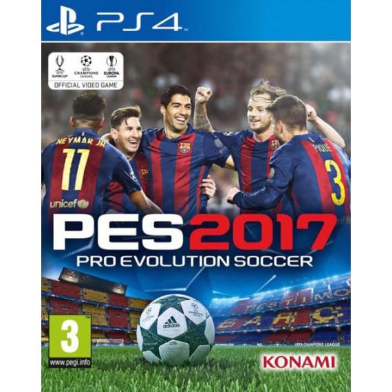 Jeux PS4 Sony PES 2017 PO