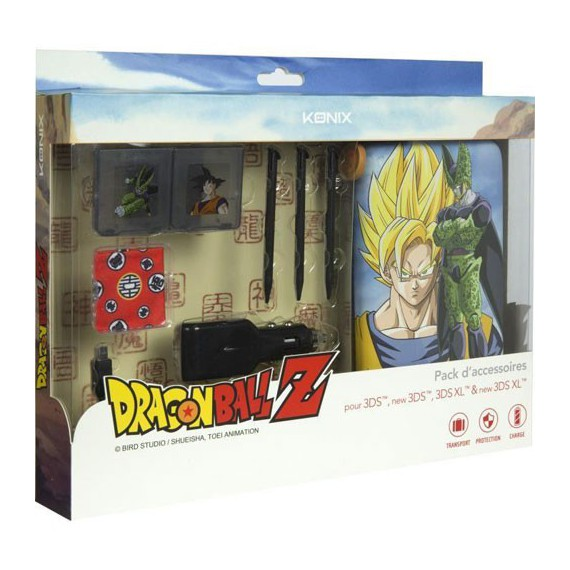 Chargeurs Konix Pack Access DRAGON BALL Z 3DS Cell
