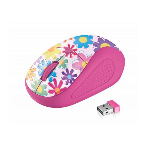 Souris Trust PRIMO WIRELESS MOUSE Pink