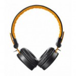 Casque micro Trust FYBER HEADPHONE BLACK ORANGE