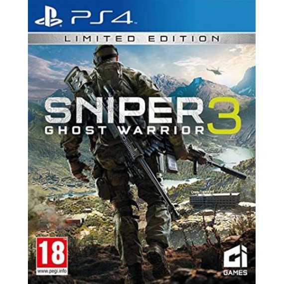 Jeux PS4 Sony SNIPER GHOST WARRIOR PS4
