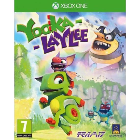 Jeux XBOX ONE MICROSOFT YOOKA LAYLEE