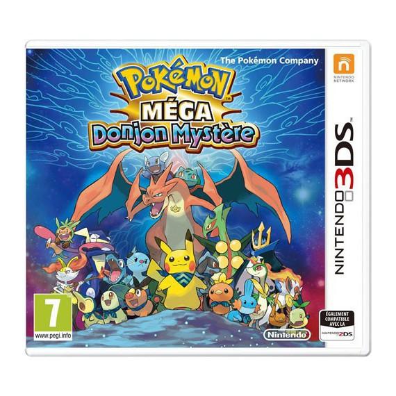Jeux 3DS NINTENDO POKEMON MEGA DONJON MYSTERE 3DS