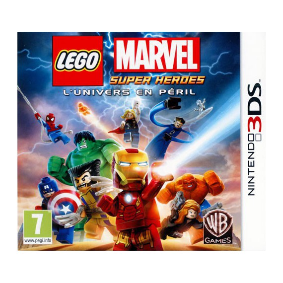 Jeux 3DS NINTENDO LEGO MARVEL SUPER HEROES 3DS