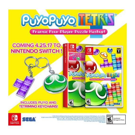 Jeux Nintendo Switch NINTENDO PUYO PUYO TEIRIS SWITCH
