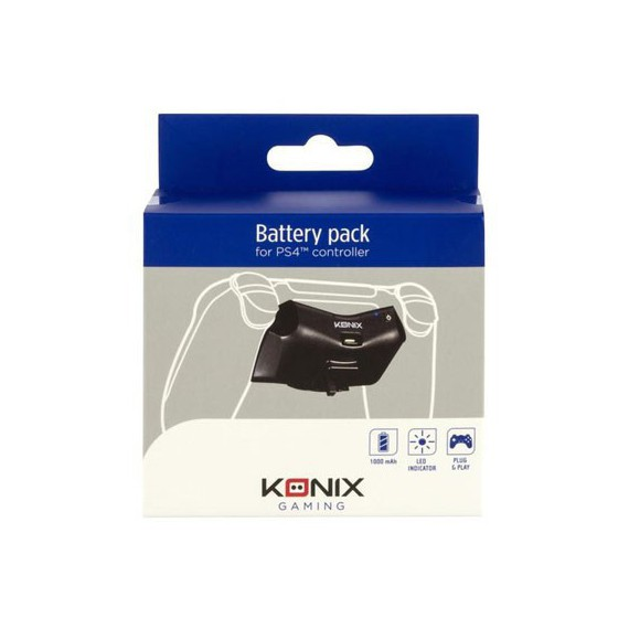 Chargeurs Konix POWER PACK MANETTE PS4