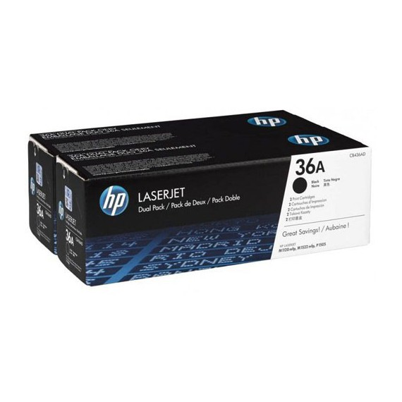 Consommables hp CB436AD