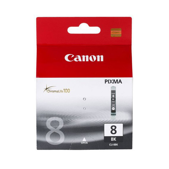 Consommables Canon CLI8BK