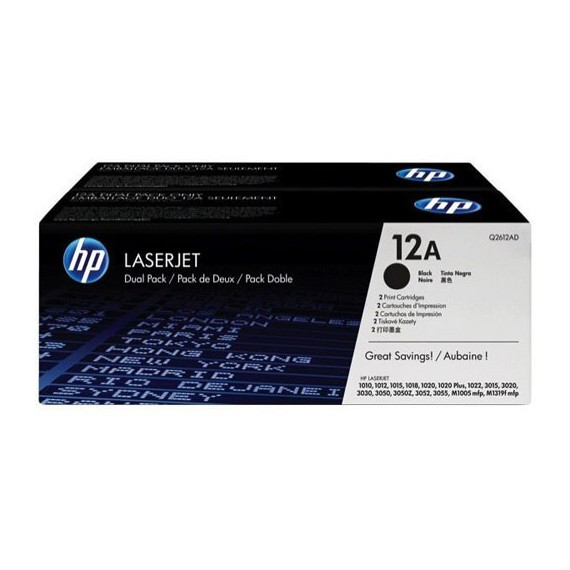 Consommables hp Q2612AD