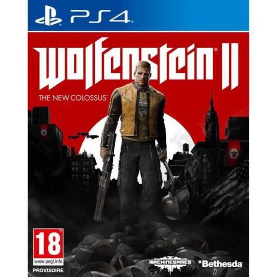 Jeux PS4 Sony WOLFENSTEIN2 PS4
