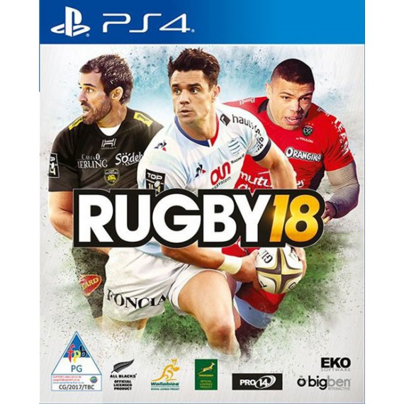 Jeux PS4 Sony RUGBY18 PS4