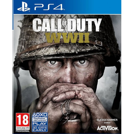 Jeux PS4 Sony CALL OF DUTY WWII PS4