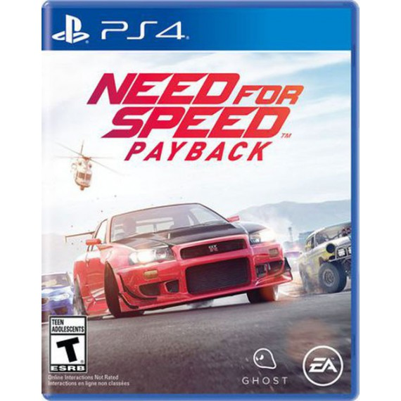 Jeux PS4 Sony NEED FOR SPEED PAYBACK PS4