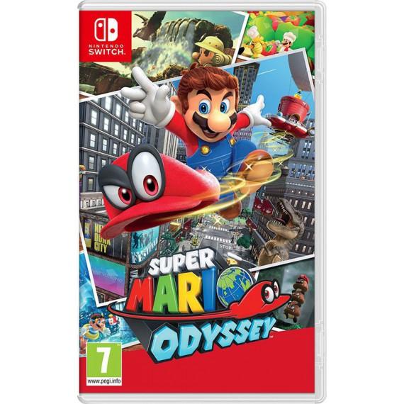 Jeux Nintendo Switch NINTENDO SUPER MARIO ODYSSEY SWITCH