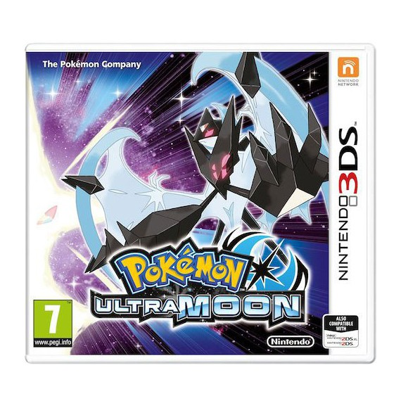 Jeux 3DS NINTENDO POKEMON ULTRA LUNE