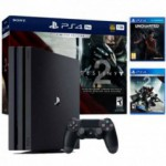 PS4 Sony CONSOLE PS4 1TO UNC DESTINY Black