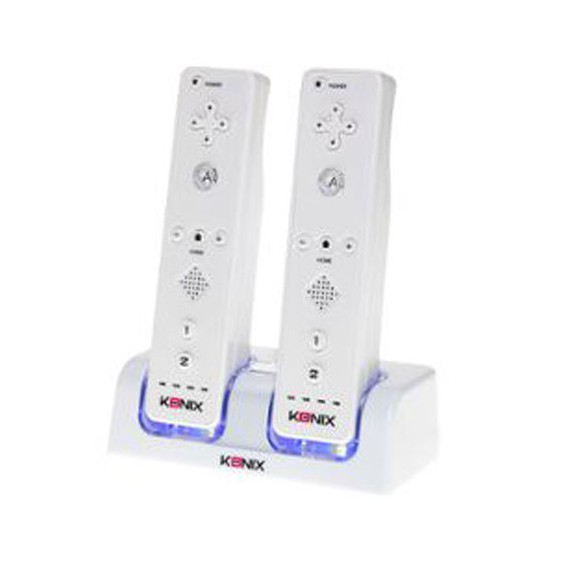 Accessoires Nintendo Konix Charge 2bat Wii