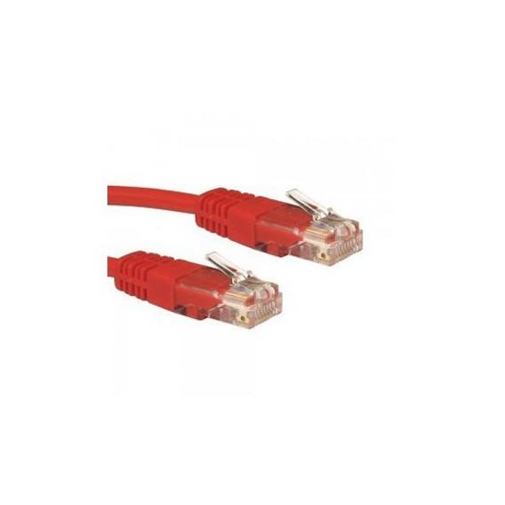 Câbles réseau INTELLINET Cable RJ45 cat 5E 1m Rouge
