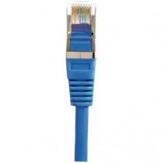 Câbles réseau INTELLINET Cable RJ45 cat 5E 1m Bleu