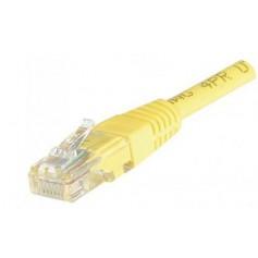 Câbles réseau INTELLINET Cable RJ45 cat 5E 3m Jaune