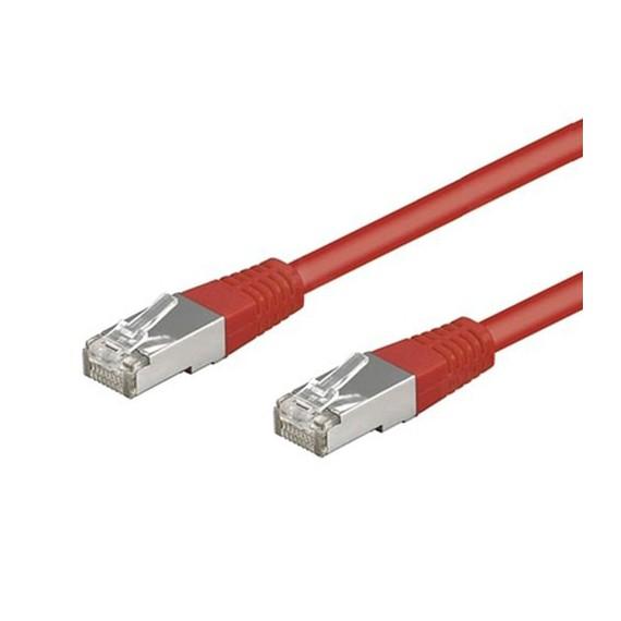 Câbles réseau INTELLINET Cable RJ45 cat 5E 5m Rouge