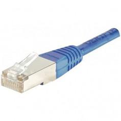 Câbles réseau INTELLINET Cable RJ45 cat 5E 5m Bleu