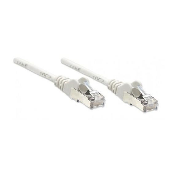 Câbles réseau INTELLINET Cable RJ45 cat 6 1m gris