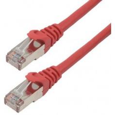 Câbles réseau INTELLINET Cable RJ45 cat 6 2m rouge