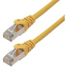 Câbles réseau INTELLINET Cable RJ45 cat 6 1m jaune