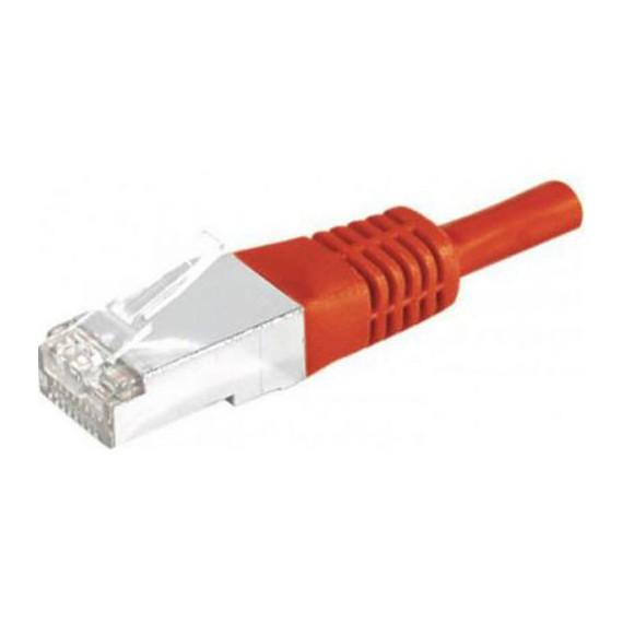 Câbles réseau INTELLINET Cable RJ45 cat 6 SFTP 5m rouge