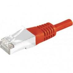 Câbles réseau INTELLINET Cable RJ45 cat 6 SFTP 1m rouge