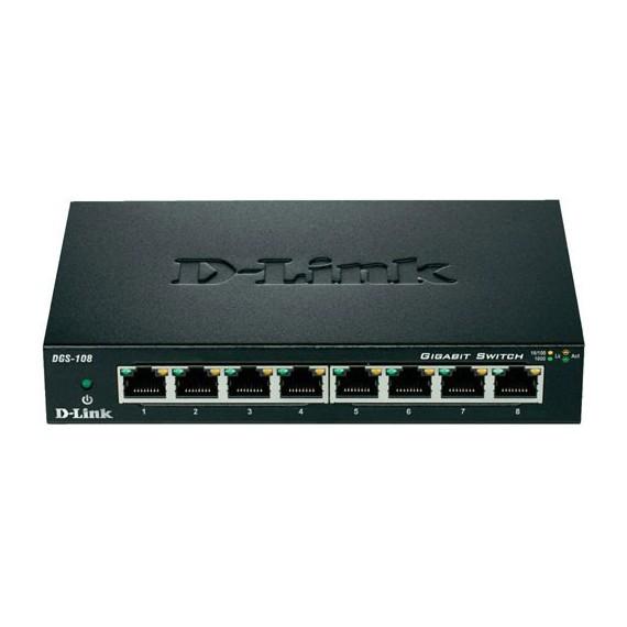 Switcher D-LINK DES 108 E