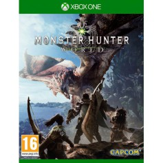 Jeux XBOX ONE MICROSOFT MONSTER HUNTER WORLD