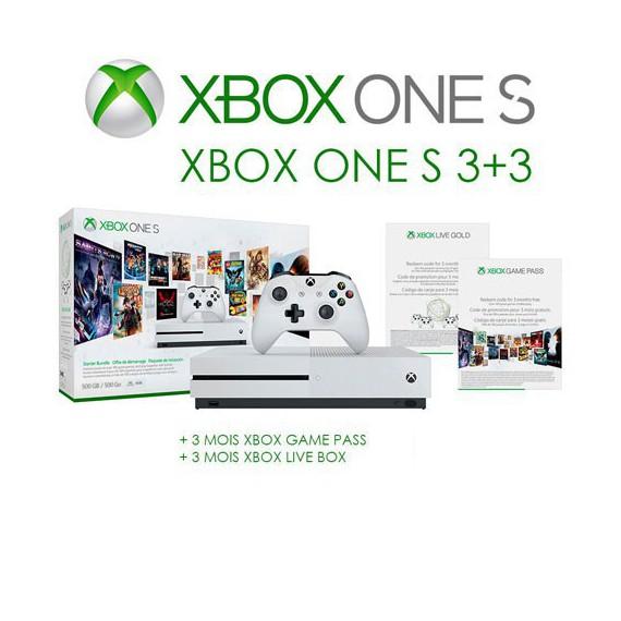 XBOX ONE MICROSOFT CONSOLE XBOX ONE S 500G