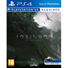 Jeux PS4 Sony ROBINSON THE JOURNEY VR P4