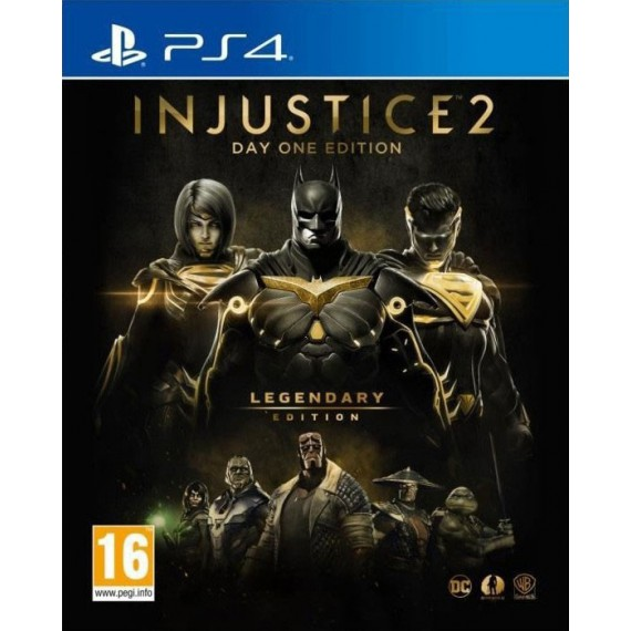 Jeux PS4 Sony PS4 INJUSTICE 2 GOTY EDITION
