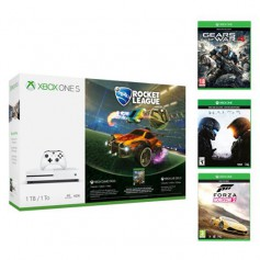 XBOX ONE MICROSOFT Rocket league+3 JEUX XBOX ONE S 1TO