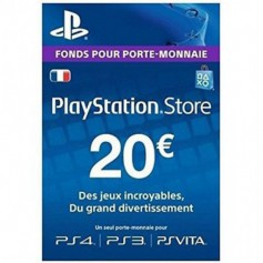 Codes de recharge Sony 20Euros PSN20