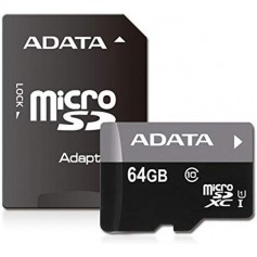 Flash Disque & Carte SD A-DATA micro SD AUSDX64G