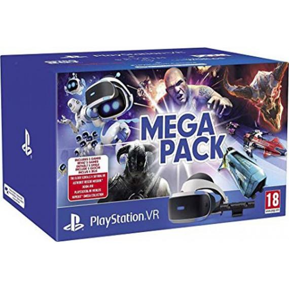 PS4 Sony VR Camera 5 jeux VR Mega Pack