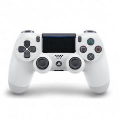Sony Manette PlayStation 4 officielle, DUALSHOCK 4, Sans fil, Batterie rechargeable, Bluetooth, Glacier White
