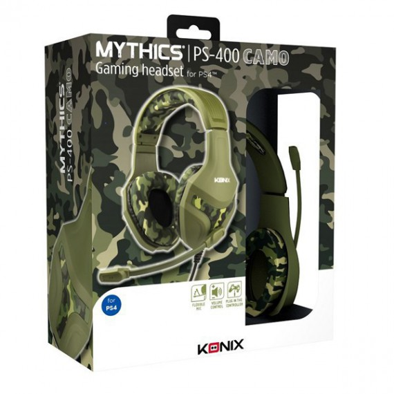 Casque micro Konix Mythics PS 400 Camouflage
