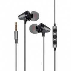 Ecouteur PROMATE Universal in ear Stereo GREY