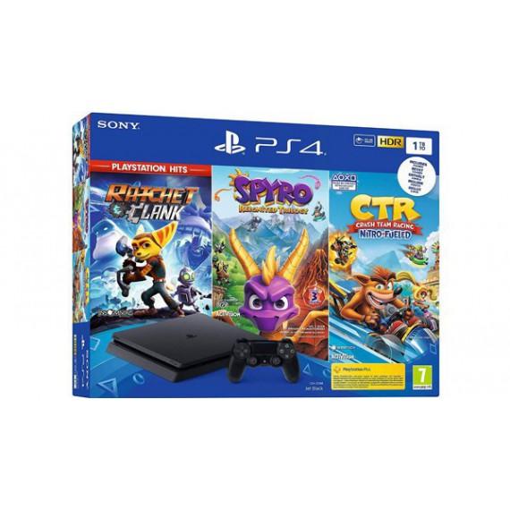 PS4 Sony SLIM 1To CTR SPYRO RATCHET