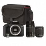 Appareils photo Reflex Canon +Sack+Carte SD16Go + 2 Objectifs EOS 2000D
