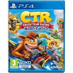 Jeux PS4 Sony Nitro-Fueled Crash Team Racing