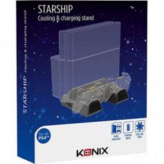 Konix Station de Refroidissement & Chargeur des deux manettes PS4