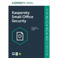 Kaspersky Kaspersky 20 Postes + 2 Server + 20 Mobiles Small office Security 1an