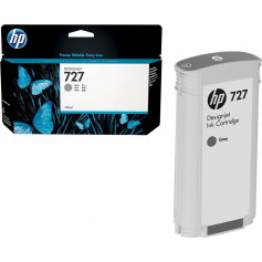 HP 727 130-ml Gray Ink