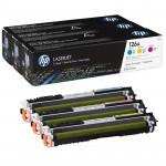 HP pack de 3 toners C/M/Y N° 126A /CP1025